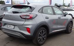 2021 Ford Puma JK MY21.25 Silver