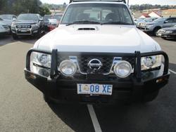 2014 Nissan Patrol DX Y61 4X4 Dual Range Polar White