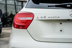 2013 Mercedes-Benz A-Class A45 AMG W176 Four Wheel Drive Cirrus White