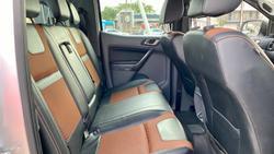 2018 Ford Ranger Wildtrak PX MkII MY18 4X4 Dual Range Ingot Silver