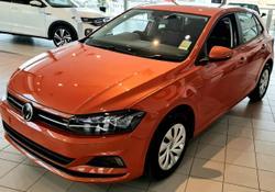 2021 Volkswagen Polo 70TSI Trendline AW MY21 Orange