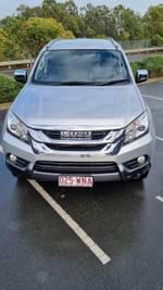 2016 Isuzu MU-X LS-T MY15 4X4 Dual Range Titanium Silver