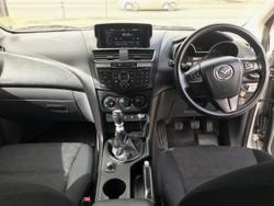 2013 Mazda BT-50 Mazda BT-50 Q 6M 3.2L DUAL C/CH XT 4X4 Highlight Silver