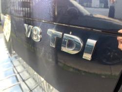 2015 Volkswagen Touareg V8 TDI R-Line 7P MY16 Four Wheel Drive Moonlight Blue
