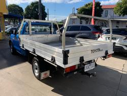 2015 Toyota Hilux Workmate TGN16R MY14 Blue
