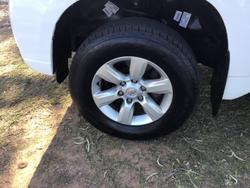 2014 Toyota Landcruiser Prado GXL KDJ150R MY14 4X4 Dual Range Glacier White
