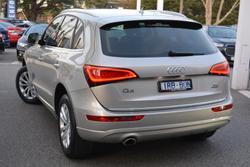 2016 Audi Q5 TDI 8R MY16 Four Wheel Drive Cuvee Silver