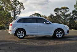 2017 Audi Q7 TDI 4M MY18 Four Wheel Drive White