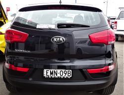 2015 Kia Sportage Si SL MY15 Black
