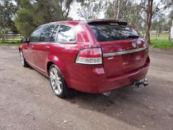 2009 Holden Calais V VE MY09.5 Maroon