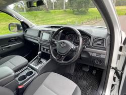 2017 Volkswagen Amarok TDI420 Core 2H MY17 4X4 Constant Candy White