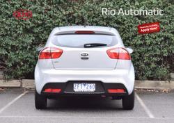 2012 Kia Rio S UB MY12 Silver