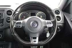 2015 Volkswagen Tiguan 155TSI R-Line 5N MY15 Four Wheel Drive Reflex Silver