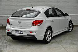 2012 Holden Cruze SRi JH Series II MY12 Heron White