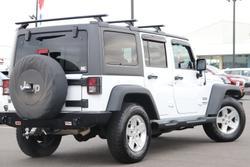 2014 Jeep Wrangler Unlimited Sport JK MY14 4X4 Dual Range Bright White