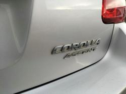 2009 Toyota Corolla Ascent ZRE152R Silver