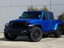 2021 Jeep Gladiator Night Eagle JT MY21 V2 4X4 On Demand Blue
