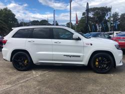 2018 Jeep Grand Cherokee Trackhawk WK MY18 4X4 On Demand White