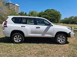 2016 Toyota Landcruiser Prado GX GDJ150R 4X4 Dual Range White