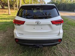 2018 Toyota Kluger GX GSU50R White