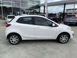 2012 Mazda 2 Neo DE Series 2 MY12 White