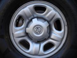 2013 Holden Colorado DX RG MY13 4X4 Dual Range White