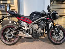 Triumph Street Triple R AND LOW