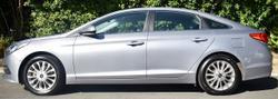 2016 Hyundai Sonata Active LF3 MY17 Silver