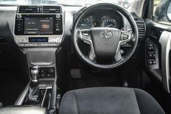 2019 Toyota Landcruiser Prado GXL GDJ150R 4X4 Dual Range White