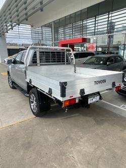 2016 Toyota Hilux SR5 GUN126R 4X4 Dual Range Silver