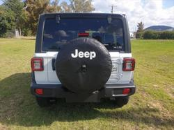 2020 Jeep Wrangler Unlimited Willys JL MY21 4X4 Dual Range Bright White