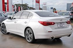 2016 INFINITI Q50 S Premium V37 White