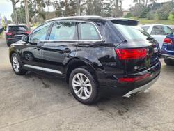 2018 Audi Q7 TDI 4M MY18 Four Wheel Drive Black