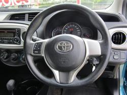 2014 Toyota Yaris YR NCP130R Green