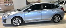 2013 SUBARU IMPREZA 2.0i-L G4 Silver