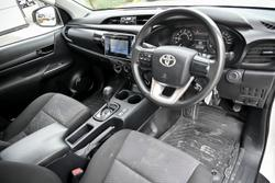 2016 Toyota Hilux Workmate TGN121R White