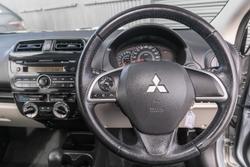 2013 Mitsubishi Mirage ES LA MY14 Silver