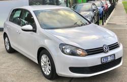 2009 Volkswagen Golf 77TDI Trendline VI MY10 White