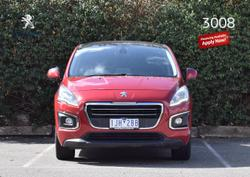 2015 Peugeot 3008 Active T8 MY15 Red