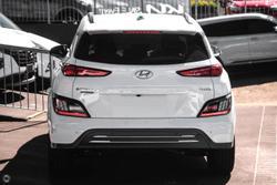 2021 Hyundai Kona electric Highlander OS.V4 MY21 White
