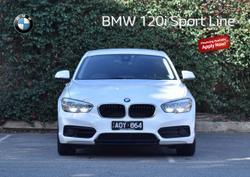 2017 BMW 1 Series 120i Sport Line F20 LCI White
