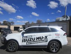 2021 ISUZU MU-X LS-T (No Series) White