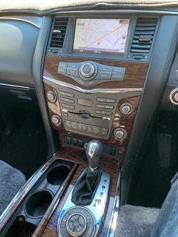 2017 Nissan Patrol Ti Y62 Series 3 4X4 Dual Range Grey