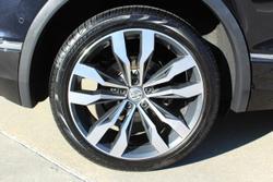 2016 Volkswagen Tiguan 162TSI Highline 5N MY17 Four Wheel Drive Black