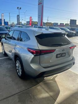 2021 Toyota Kluger Grande AXUH78R 4X4 On Demand Silver