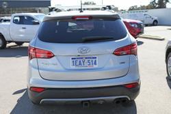 2012 Hyundai Santa Fe Elite DM MY13 4X4 On Demand Silver