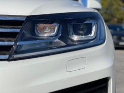 2018 Volkswagen Touareg V6 TDI 7P MY18 Four Wheel Drive White
