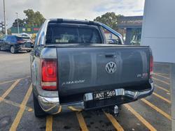 2017 Volkswagen Amarok TDI550 Highline 2H MY18 4X4 Constant Grey