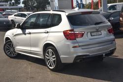 2016 BMW X3 xDrive20d F25 LCI 4X4 Constant Silver