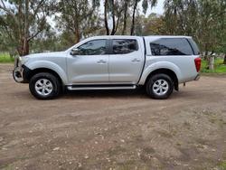 2016 Nissan Navara ST D23 Series 2 4X4 Dual Range Silver